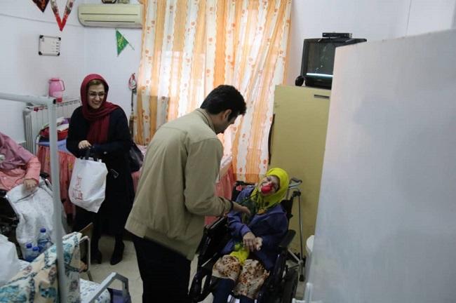 گزارش تصویری برگزاری اختتامیه جشن امی محله در محله معلولین رشت