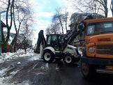 گزارش تصویری عملیات اجرایی و اقدامات نیروهای منطقه دو پس از بارش برف