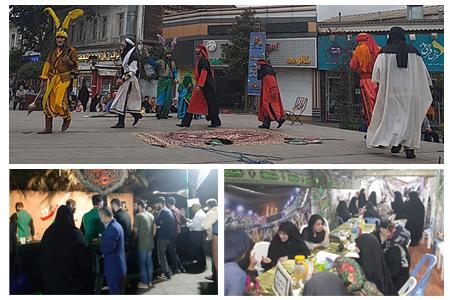 گزارش تصویری برنامه های سازمان فرهنگی، اجتماعی و ورزشی شهرداری رشت در آستانه اربعین حسینی (ع)