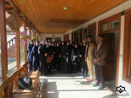 گزارش تصویری بازدید رییس کمیسیون فرهنگی ، اجتماعی شورای اسلامی شهر رشت از نمایشگاه  عکس جست (روضه های اصیل رشت ) درخانه میرزا