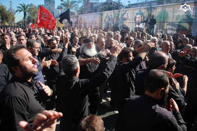 گزارش تصویری گردهمایی بزرگ اربعین با حضور دلدادگان سرور و سالار شهیدان