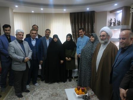 دیدار با خانواده معظم شهداء انقلاب اسلامی وجانبازان در چله انقلاب