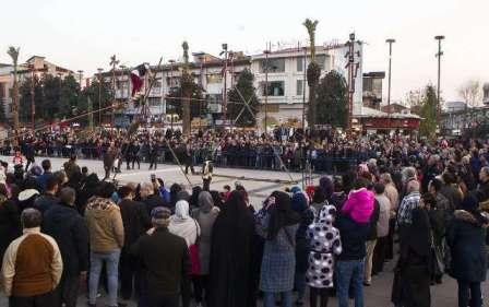 گزارش تصویری برگزاری بازیهای بومی و محلی ومسابقات ورزشی به مناسبت روز رشت