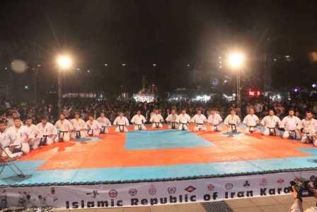 مسابقات جام ستارگان کاراته آزاد