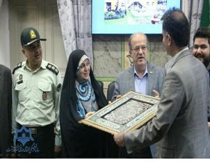 تقدیر  از زحمات دکتر علیزاده،معاون اجتماعی سازمان فرهنگی،اجتماعی، ورزشی شهرداری رشت